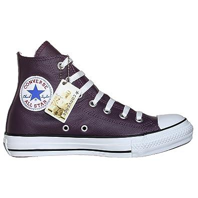 1bffd5c773603 Converse 100162 - Zapatillas Altas de Cuero Mujer 36.5 EU  Amazon.es   Zapatos y complementos