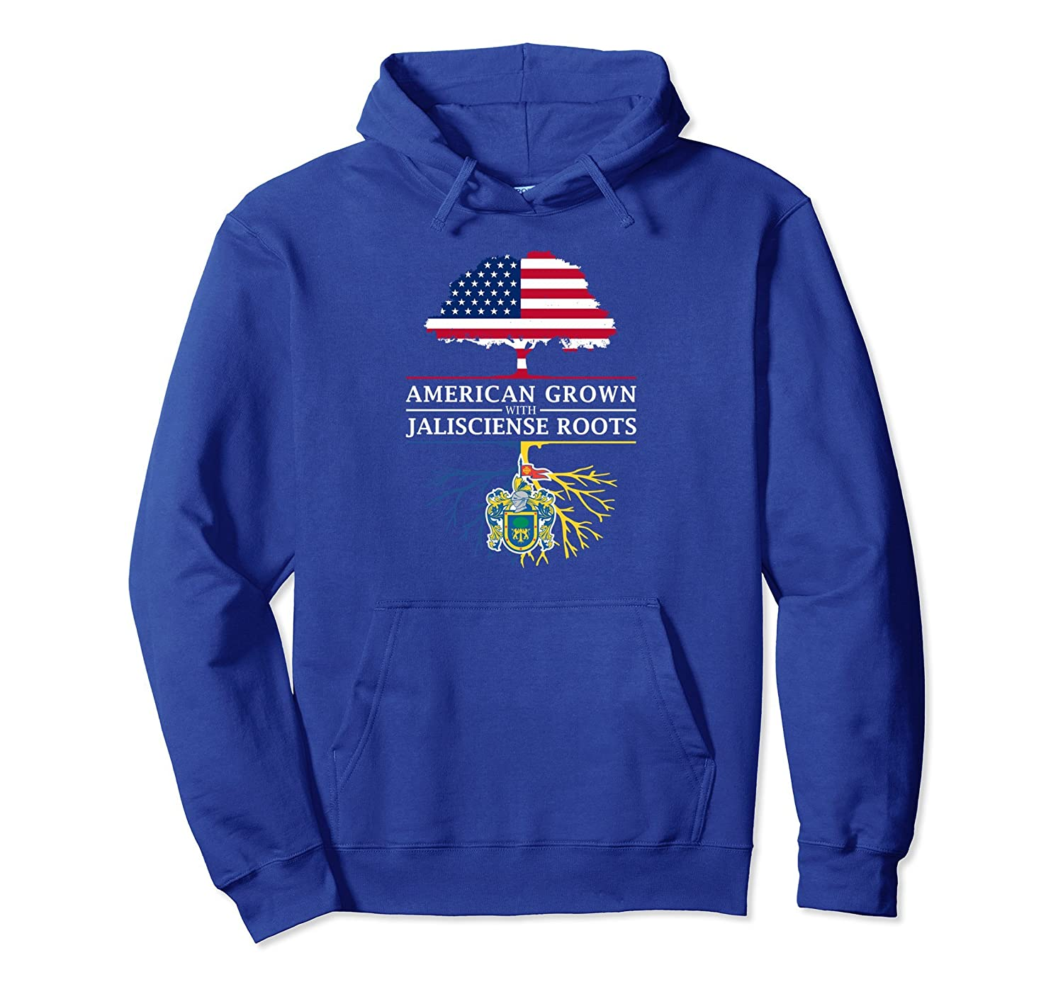 American Grown with Jalisciense Roots - Jalisco Hoodie-ah my shirt one gift