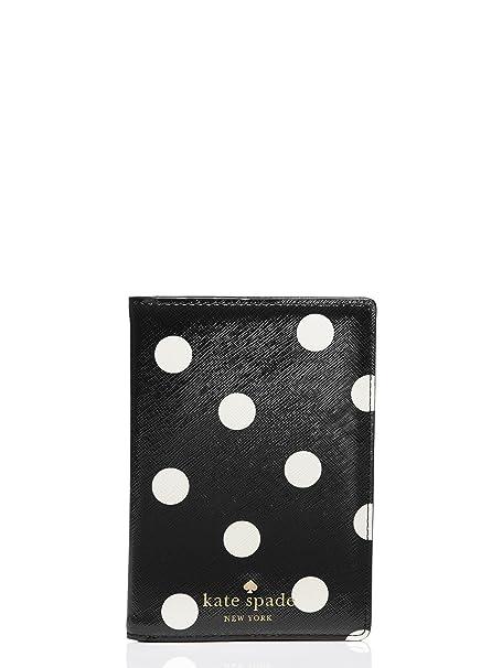 70a75421ae0b Kate Spade Carlisle Street Polka Dot Passport Holder Wallet Case with  Credit Card Slots
