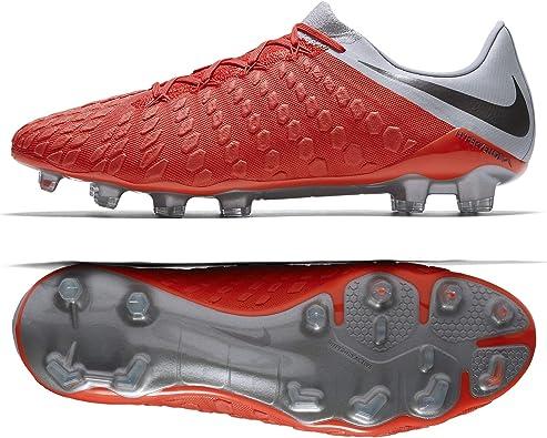 Medalla Tomar conciencia verdad  Amazon.com | Nike Hypervenom 3 III Elite FG AJ3805-600 Crimson/Grey/Silver  Men Soccer Cleats (7) | Shoes