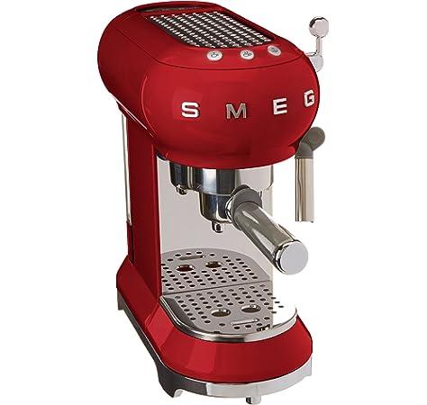 Smeg DCF02RDEU cafetera espresso, 1050 W, 1.4 litros, De plástico ...