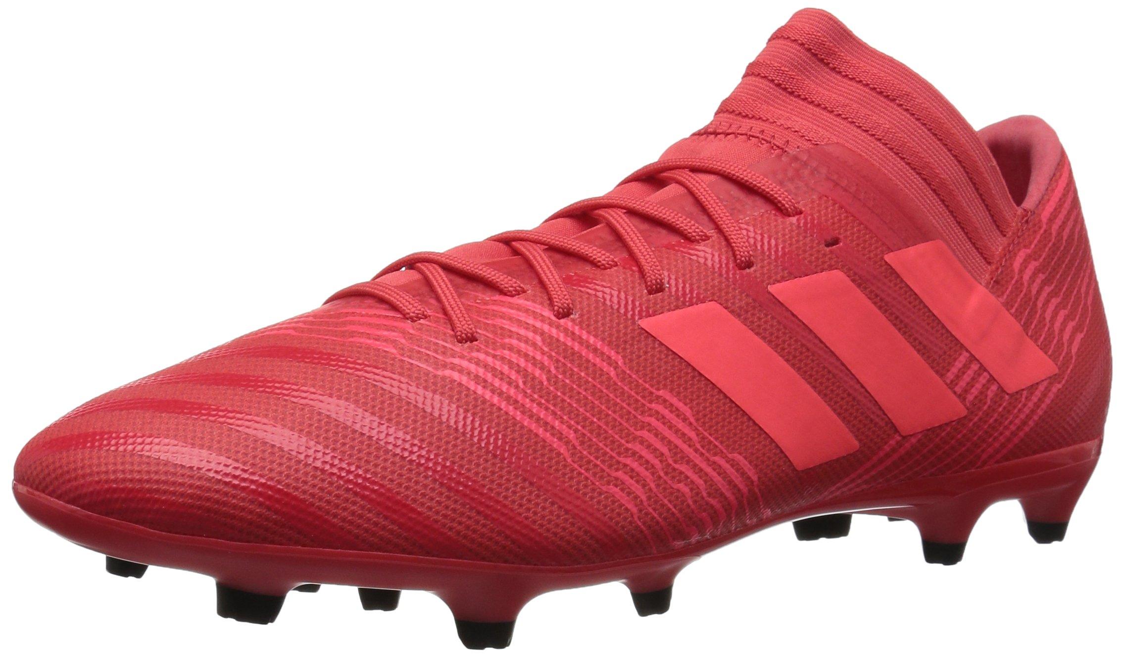 adidas Men's Nemeziz 17.3 FG Soccer Shoe, Real Coral/Red Zest/Core Black, 12.5 M US by adidas