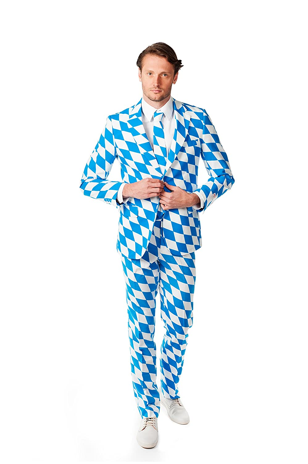 Amazon.com: Opposuits Mens The Bavarian - Crazy Suit, 38: Clothing