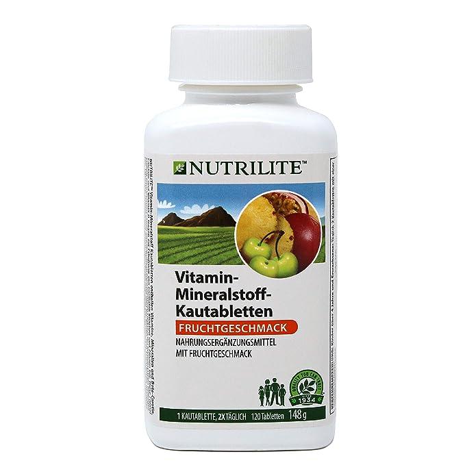 NUTRILITE Multivitaminas / Minerales Masticable Infantil-120/148 ...