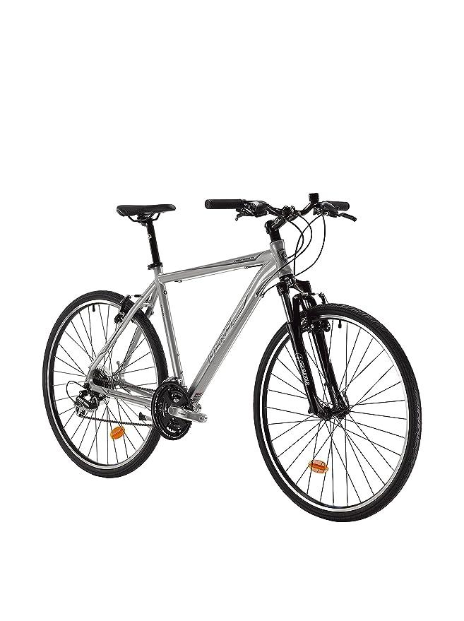 Berg Bicicleta Crosstown F5 Plateado: Amazon.es: Deportes y aire libre