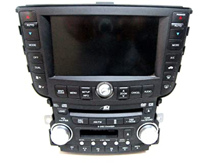 Amazoncom ACURA TL RADIO DISC CD PLAYER NAVIGATION - Acura tl radio