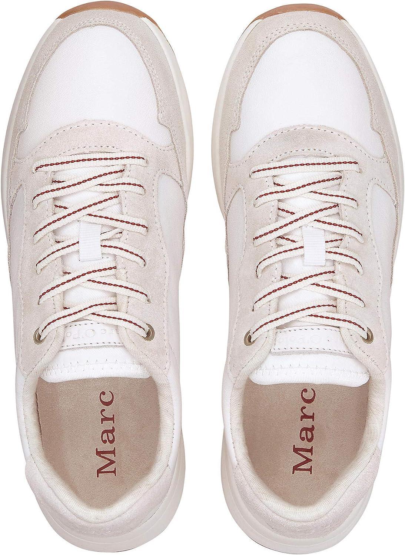 Marc O'Polo 90715263503303 dames sneaker wit (white 110)