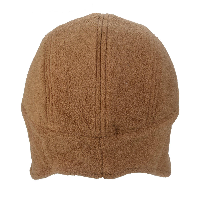 Flammi Men/Women\'s Fleece Earflap Hat Beanie (Camel) at Amazon Men\'s ...