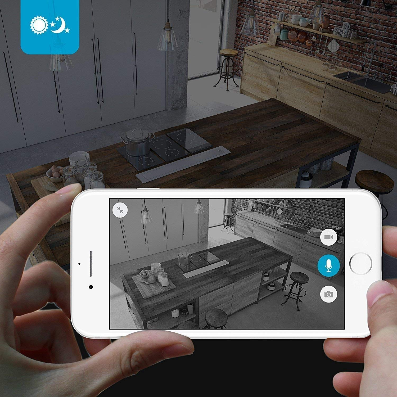 Zmodo Two-Way Audio Mini WiFi Home Security Camera (2 pack) by Zmodo (Image #5)