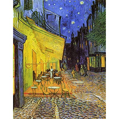 DDTOP Jigsaw Puzzles for Adults, Difficult Famous Van Gogh Oil Painting Cafe Terrace at Night Jigsaw 1000 Pieces Puzzles, Challenge Yourself with Unique Premium Puzzle Games: Toys & Games