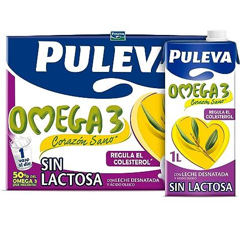 Puleva Max Leche de Crecimiento y Desarrollo Sin Lactosa - Pack 6 x 1Lt: Amazon.es: Alimentación y bebidas
