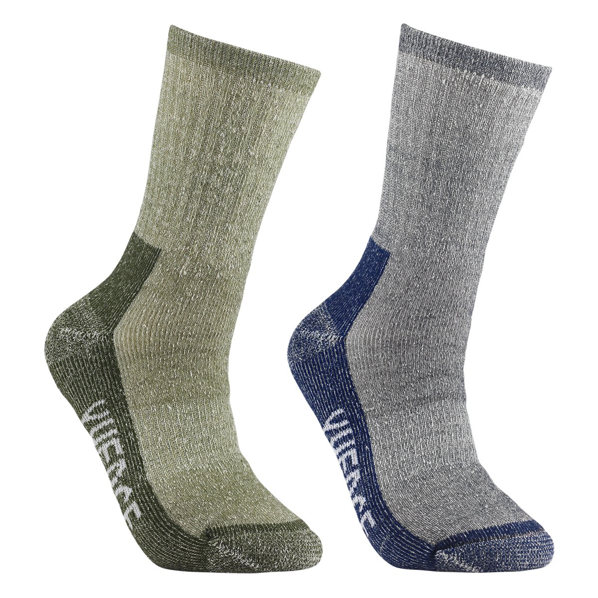YUEDGE Men's Merino Wool Crew Socks For Hiking Backpacking Trekking Climbing YUEDGE Mens Wool Socks