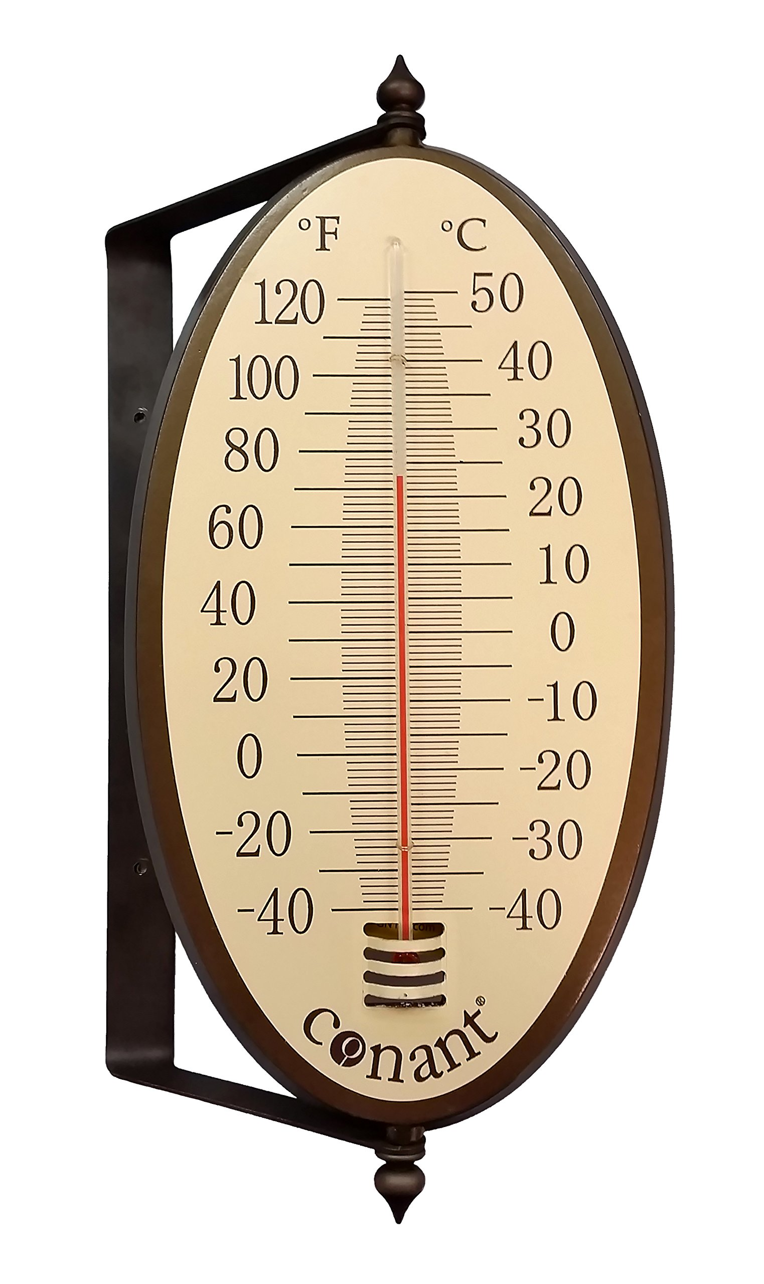 Conant Vintage Oval Thermometer