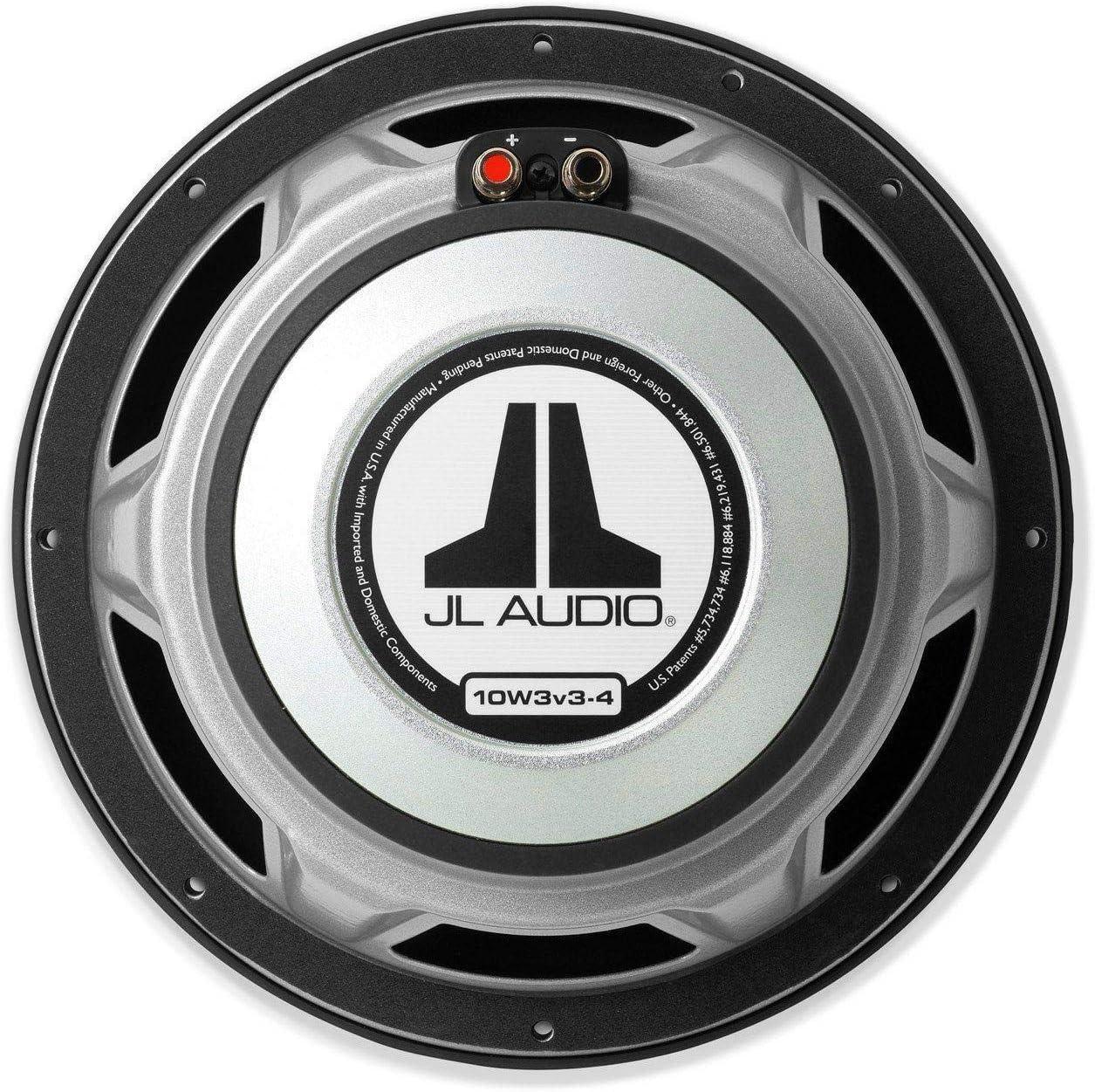 JL Audio 10W3v3-2 10 Single 2 ohm W3v3 Series Subwoofer 10W3v3
