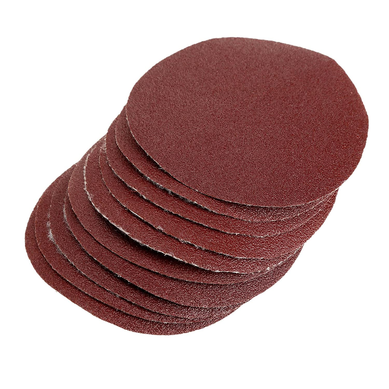 Dophee 50Pcs 240 Grit Sanding Discs Sandpaper Polishing Pads for Woodworking Metal Finishing