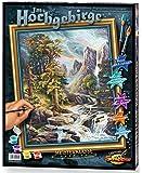 Schipper 609130430 - Malen nach Zahlen - Im Hochgebirge, 40x50 cm
