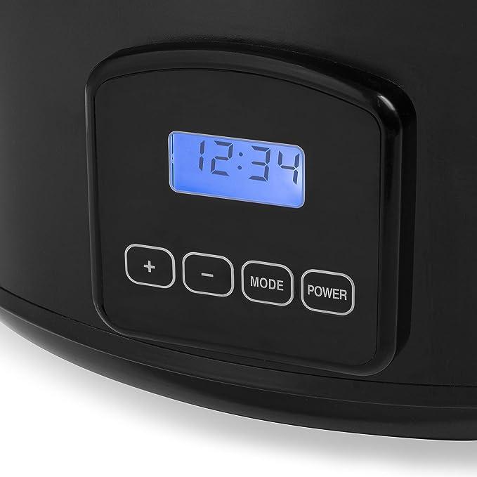 Tristar VS-3920 - Olla de cocción lenta digital de 4,5 L de ...