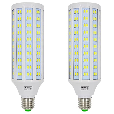 MENGS® 2 unidades E27 Bombilla LED 30 W Blanco Frío 6500 K AC 85 –