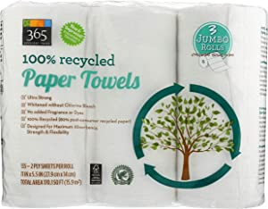 365 Everyday Value, Paper Towels, Jumbo Roll, 3 ct