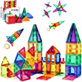 Magnets for Kids STEM Learning Toys 3D Building Magnetic Blocks Construction Magnet Toys for 3 Years Old Boys and Girls Monte