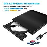 2019 New Version High Speed USB 3.0 External DVD CD