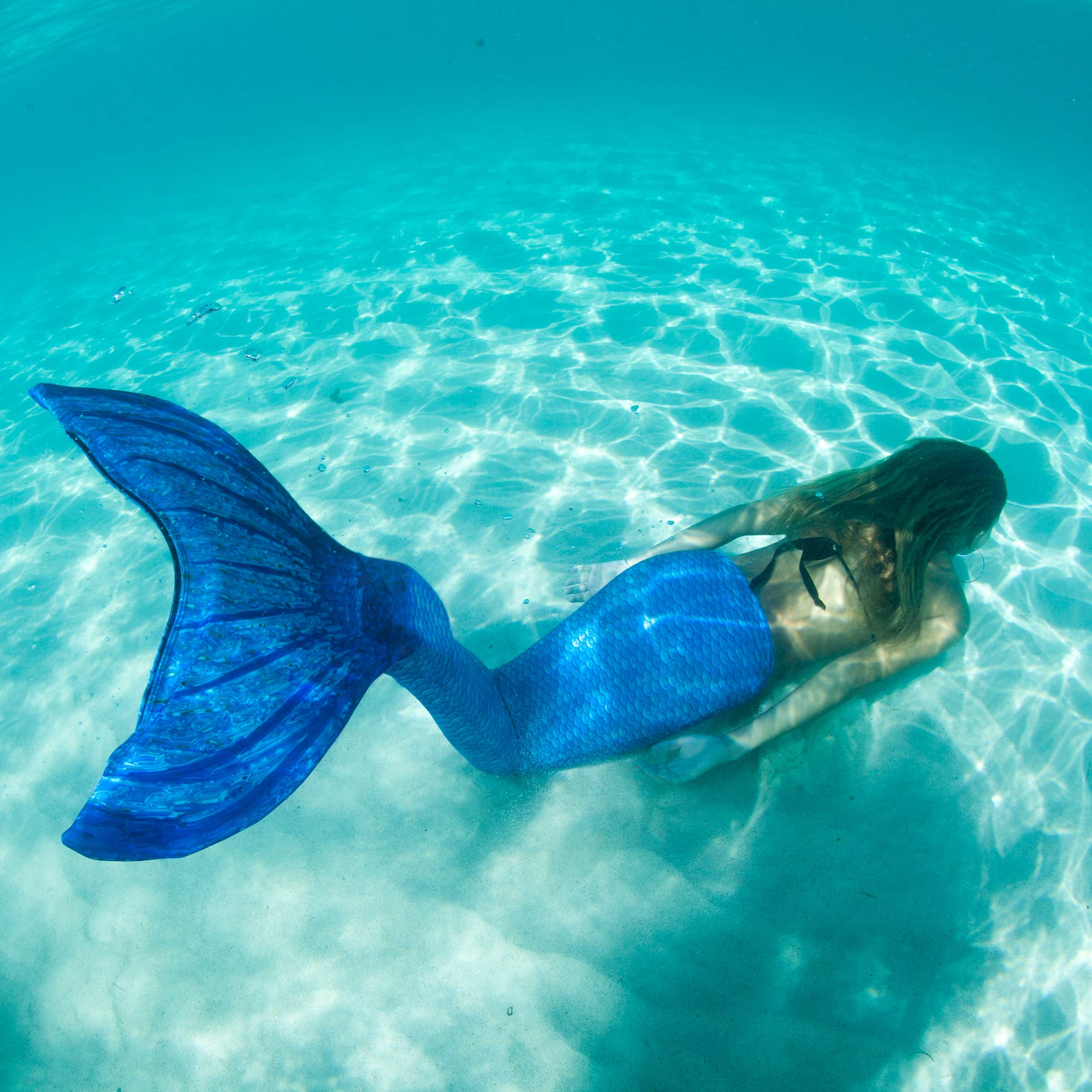 Fin Fun Mermaid Tail Only, Reinforced Tips, NO Monofin, Asian Magenta, Size Child 10 by Fin Fun (Image #6)