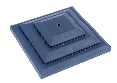 Paletti Per Recinzione Plastica.Proops Tappi Per Pali Di Recinzione In Plastica 10 Pezzi 7 5 Cm