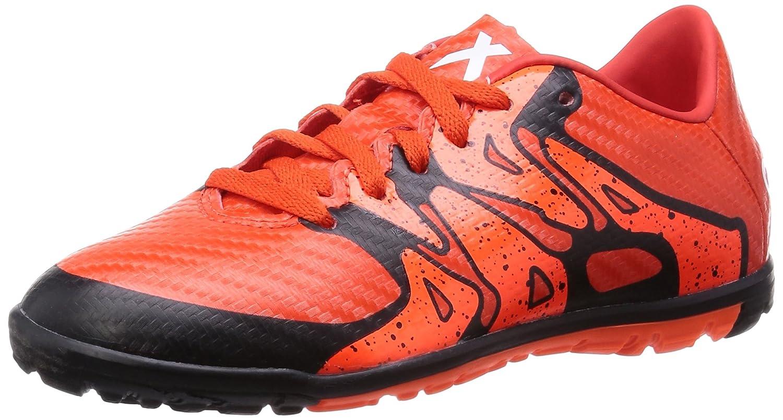 size 40 8d629 41ba2 Amazon.com  adidas X 15.3 Astro Turf Junior Football Trainers - Orange-4   Soccer