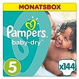 Pampers Baby Dry Windeln, Größe 5 (11-23 kg), 144 Stück