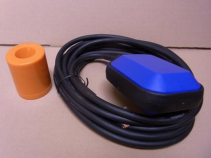 Interruptor de flotador 10 M interruptor de cambio de bomba sumergible bomba con forma de interruptor