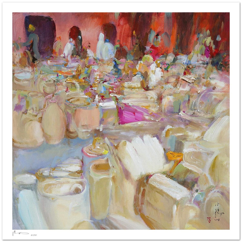Reproducción de arte - Your presence there - sobre papel de ...
