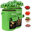 2-Pack Owhow Potato Grow Bag with Handles Flap