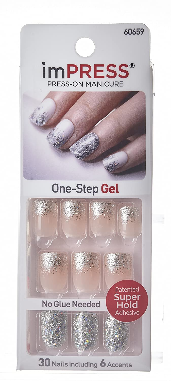 Amazon.com : Impress Press-on Nails By Broadway Nails-bipd270 / One ...