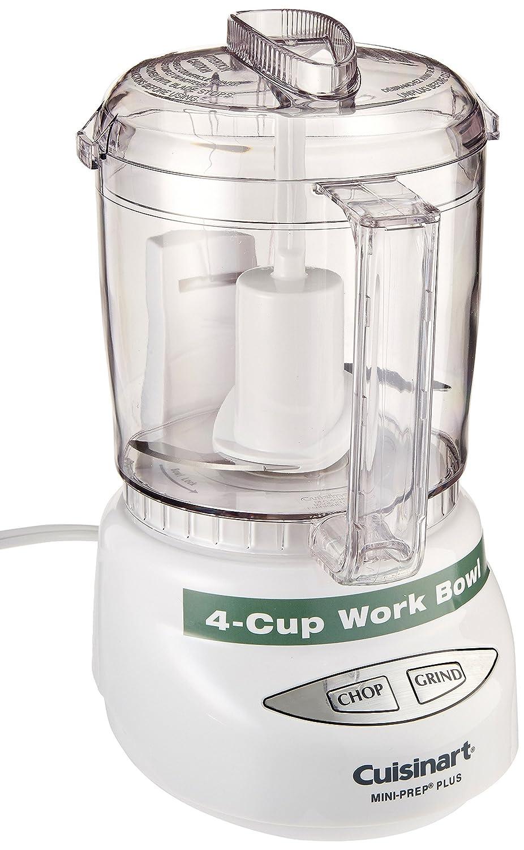 Cuisinart Mini-Prep Plus 4-Cup Food Processor, White (Certified Refurbished)
