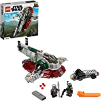 LEGO Star Wars Boba Fett's Starship 75312 Fun Toy Building Kit; Awesome Gift Idea for Kids; New 2021 (593 Pieces)