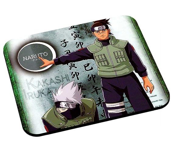 Sensei alfombrilla de ratón Naruto Kakashi Sensei Iruka ...