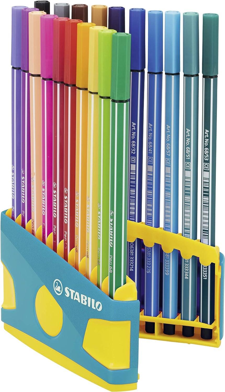 STABILO Fasermaler Pen 68 20er ColorParade türkis