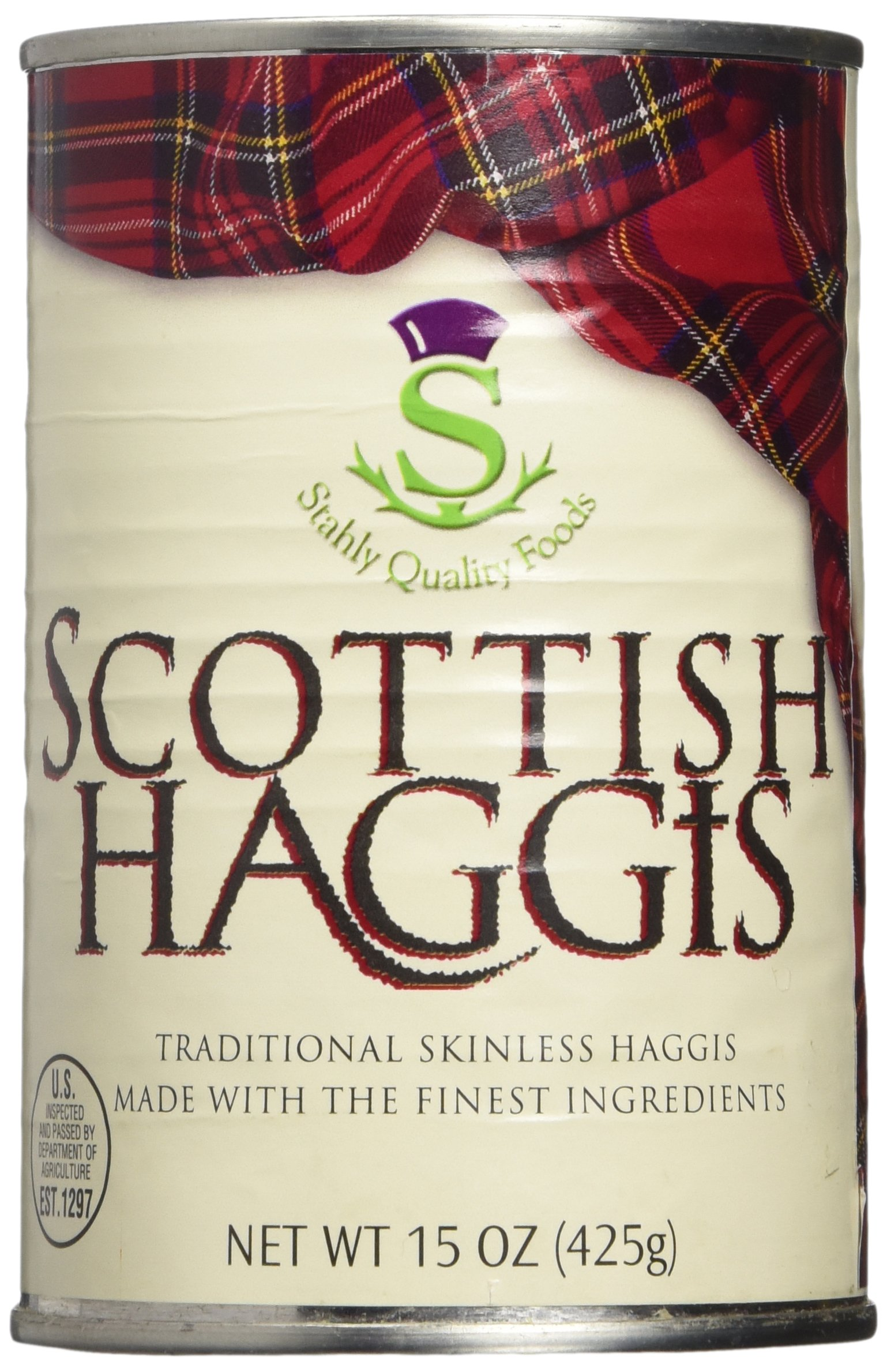Traditional Scottish Haggis 15oz, (Pack of 2) by Stahly (Image #1)