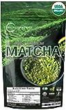Matcha Green Tea Powder Organic ( Japanese Premium Culinary Grade ) - USDA & Vegan Certified - 4 oz - Perfect for Baking, Smoothies, Latte, Iced Tea, Herbal Teas