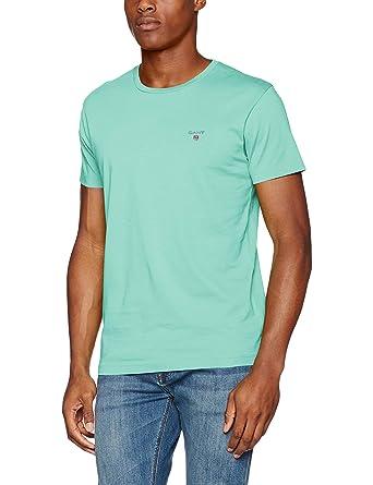 c80a119fe34c Gant Men's The Original Ss T-Shirt: Amazon.co.uk: Clothing