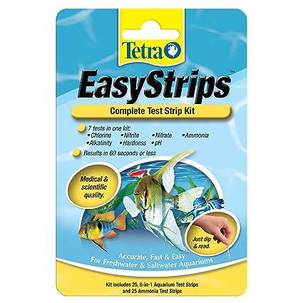 Fish & Aquariums Tetra Test Strips 6 In 1 For Freshwater Aquariums