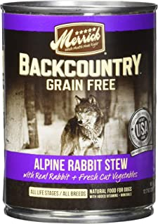 product image for Merrick Backcountry Alpine Rabbit Can Dog Food