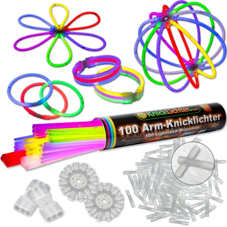 100 Lightstick 7 colori Punteggio del test 1,4
