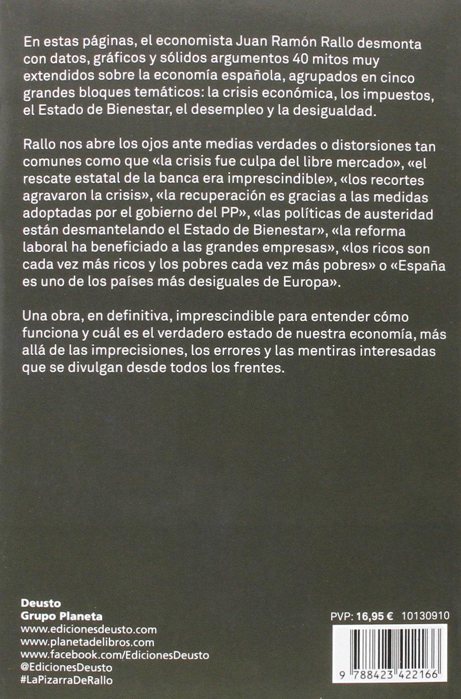 La Pizarra De Juan Ramon Rallo Los 40 Mitos De La Economia Espanola