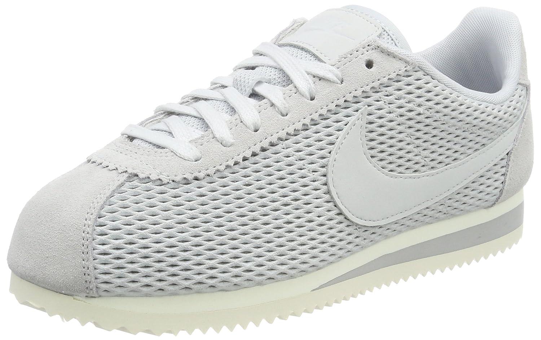 Nike Classic Cortez Se, Zapatillas Para Mujer 41 EU Gris (Pure Platinum/Pure Platinum-sail)