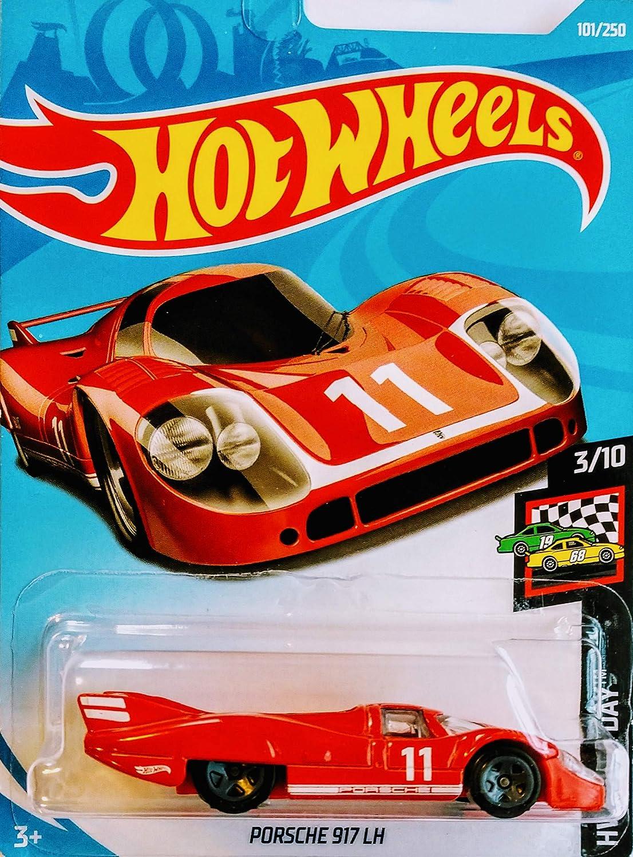 Matchbox Hot Wheels Porsche 5 Car Bundle Set Version 5 Include Porsche Carrera 917 LH Panamera Panamera Turbo Hybrid