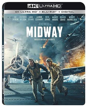 Amazon Com Midway Blu Ray Roland Emmerich Luke Evans Patrick