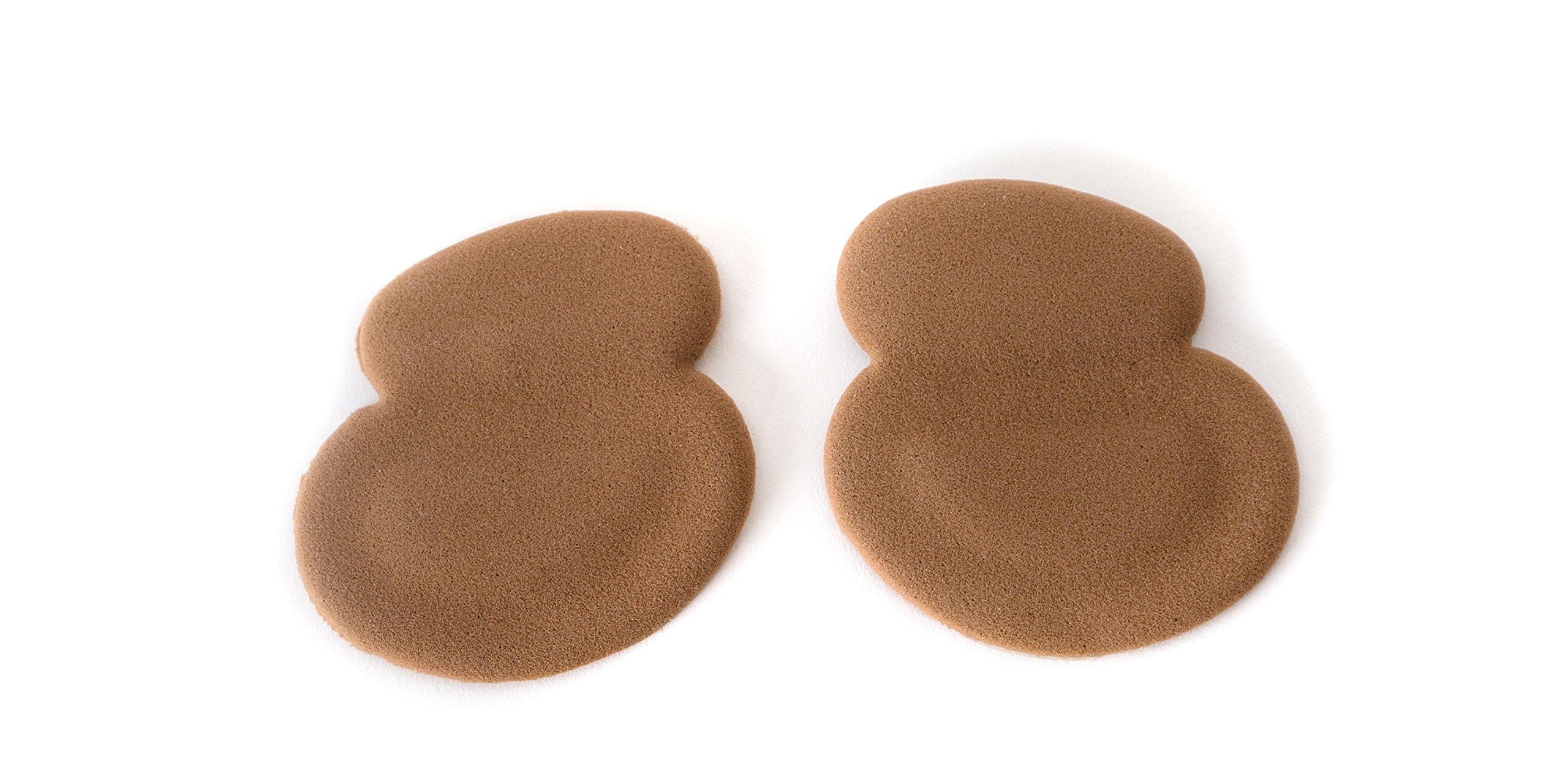 Ball of Foot Cushion Rebounding PORON Foam Toe Grip Stops Slide Stabilizes Foot Ergonomic fit