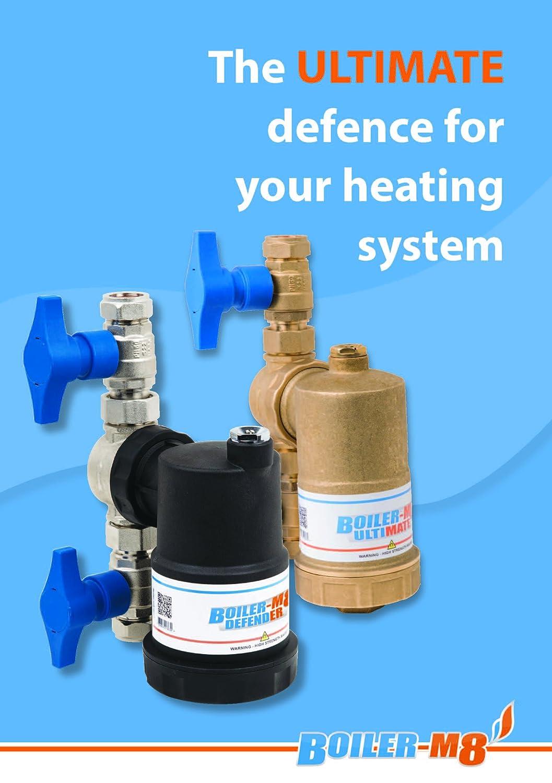 New Boiler-m8 Ultimate Brass Magnetic Central Heating System Boiler ...
