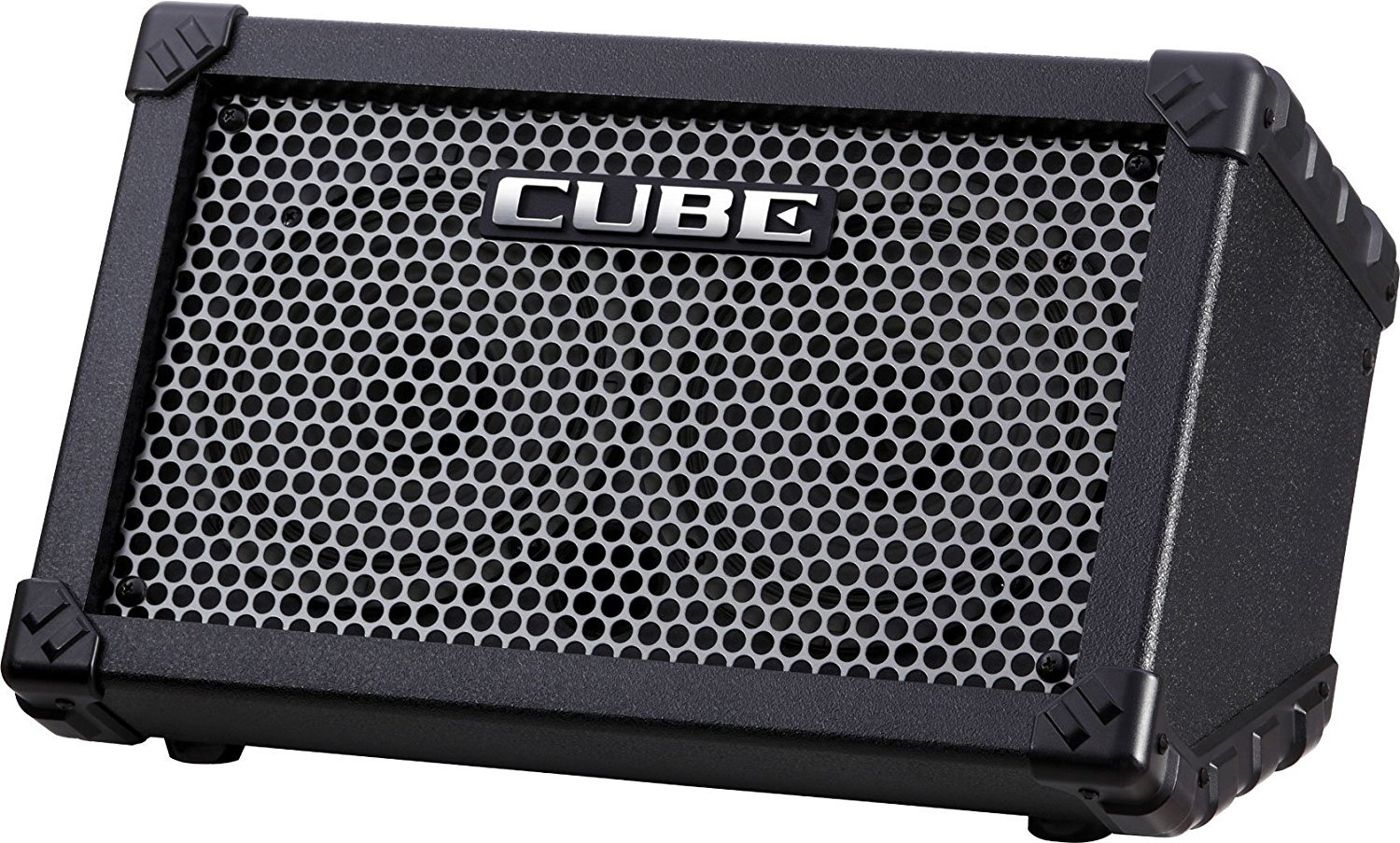 Roland CUBE-ST Cube Street Battery-powered Guitar Combo Amplifier Black with 1 Year Free Extended Warranty by Roland